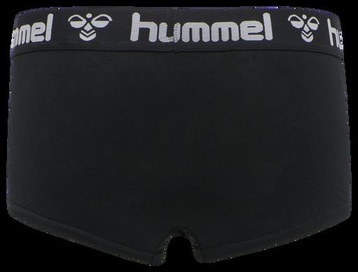HMLMAYA 2PACK HIPSTERS, BLACK/BLACK, packshot