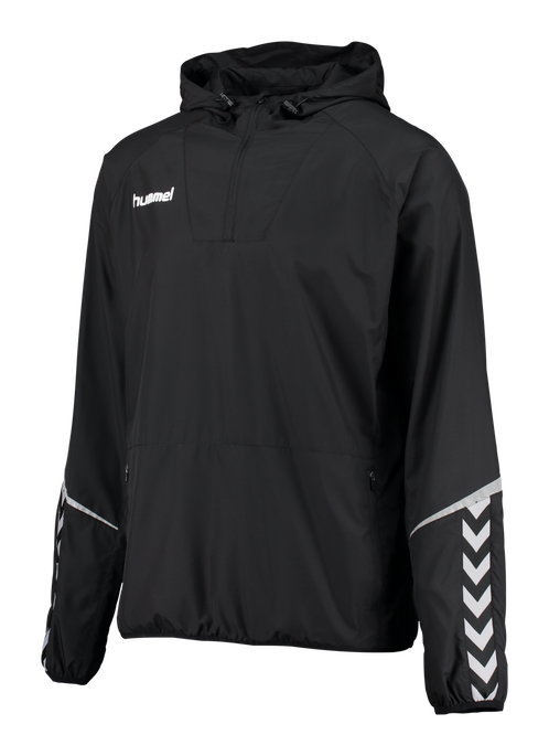 AUTH. CHARGE LIGHT WEIGHT WINDBREAKER, BLACK/BLACK, packshot