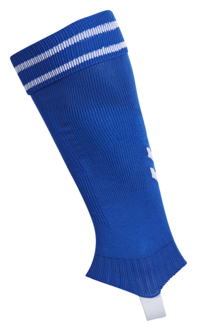 ELEMENT FOOTBALL SOCK FOOTLESS, TRUE BLUE/WHITE, packshot