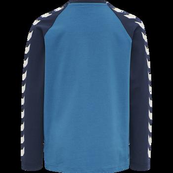 hmlBOYS T-SHIRT LS, BLUE SAPPHIRE, packshot