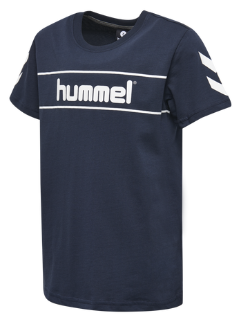 HMLJAKI T-SHIRT S/S, TOTAL ECLIPSE, packshot