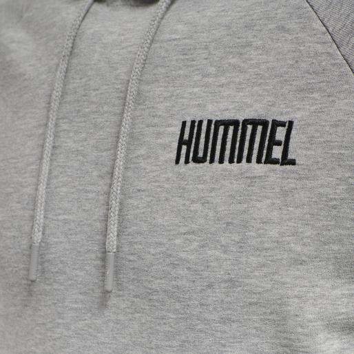 hmlLIMO HOODIE, GREY MELANGE, packshot