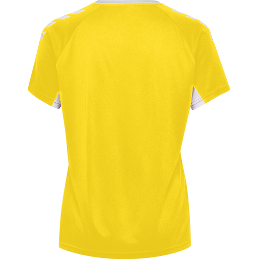 CORE TEAM JERSEY WOMAN S/S, SPORTS YELLOW, packshot