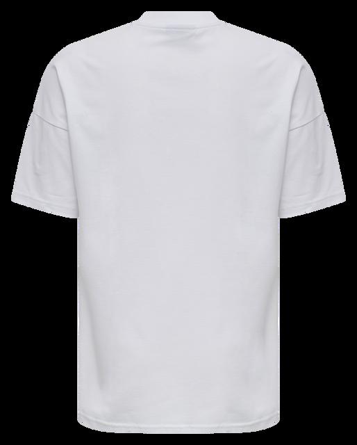 hmlBEACH BREAK T-SHIRT S/S, WHITE, packshot