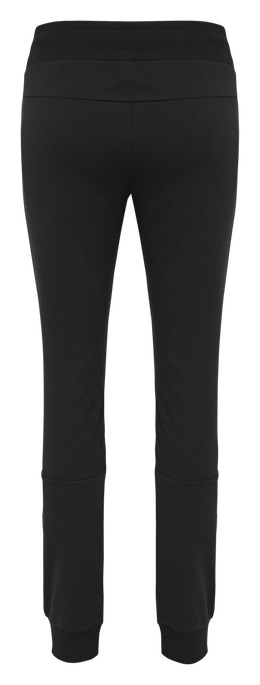 hmlNONI REGULAR PANTS, BLACK, packshot