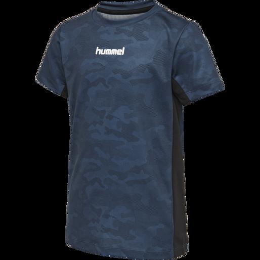 hmlRUSSEL T-SHIRT S/S, STELLAR, packshot