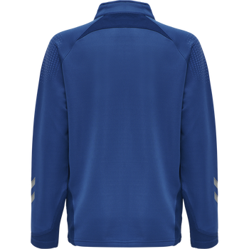 hmlLEAD POLY ZIP JACKET KIDS , TRUE BLUE, packshot