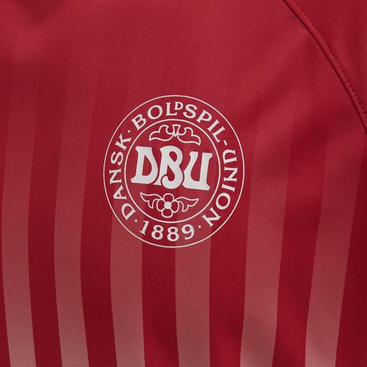 DBU FAN 2020 RETRO TEE, TANGO RED/WHITE, packshot
