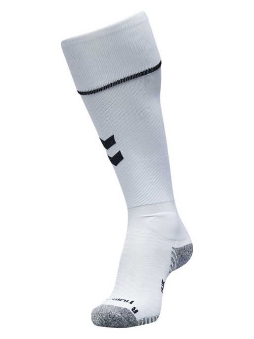 PRO FOOTBALL SOCK, WHITE/BLACK, packshot