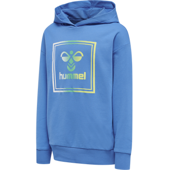 HMLLEIDEN HOODIE, SUMMER BLUE, packshot