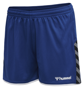 hmlAUTHENTIC POLY SHORTS WOMAN, TRUE BLUE, packshot
