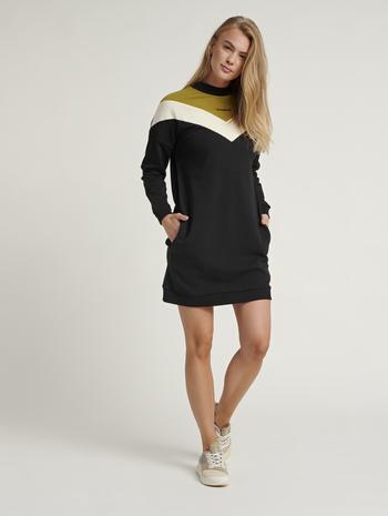 HMLALESIA DRESS, BLACK, model