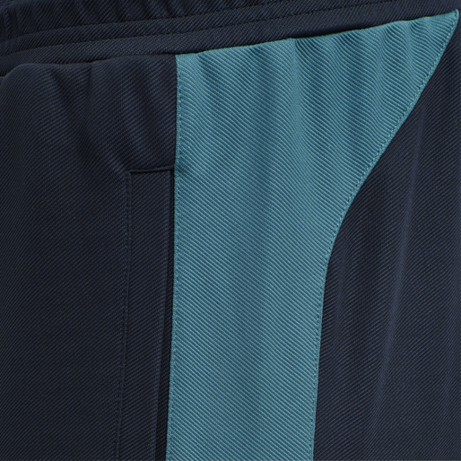 hmlACTION TRAINING PANTS, DARK SAPPHIRE/BLUE CORAL, packshot