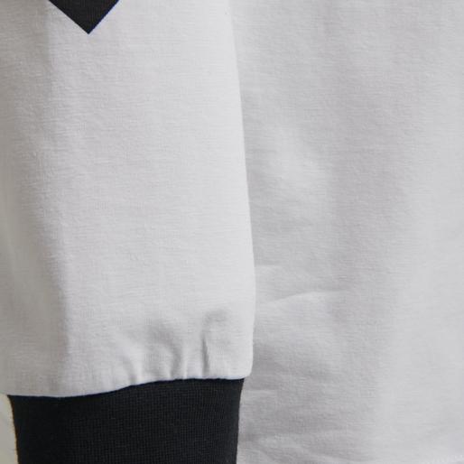 hmlKROVEJ T-SHIRT L/S, WHITE, packshot