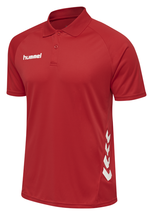 hmlPROMO KIDS POLO, TRUE RED, packshot