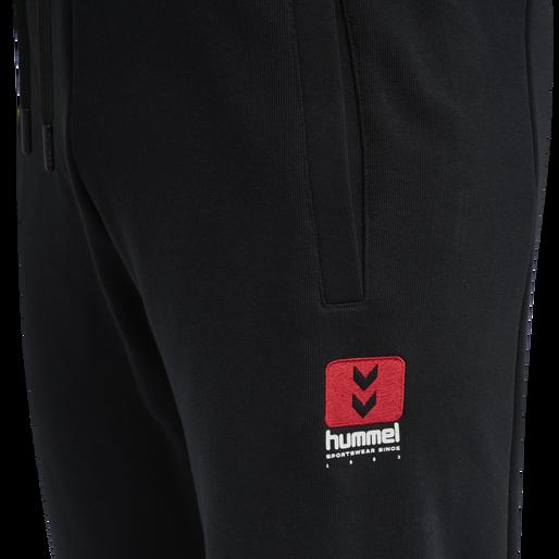hmlLGC GRAHAM REGULAR PANTS, BLACK, packshot