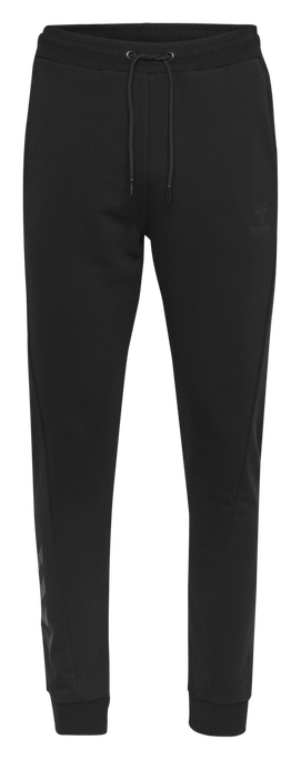 hmlISAM REGULAR PANTS, BLACK, packshot