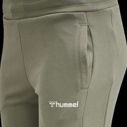 hmlRAMONA SLIM PANTS, VETIVER, packshot