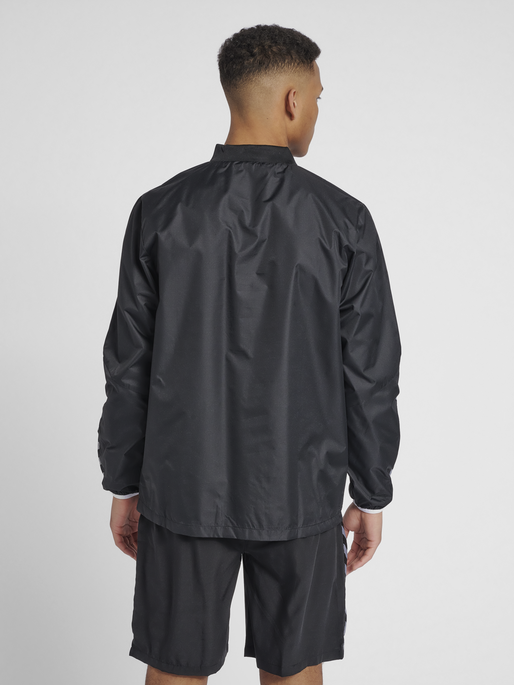 hmlAUTHENTIC WIND BREAKER, BLACK/WHITE, model