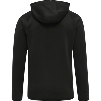 DBU TRAVEL HOODIE, BLACK, packshot