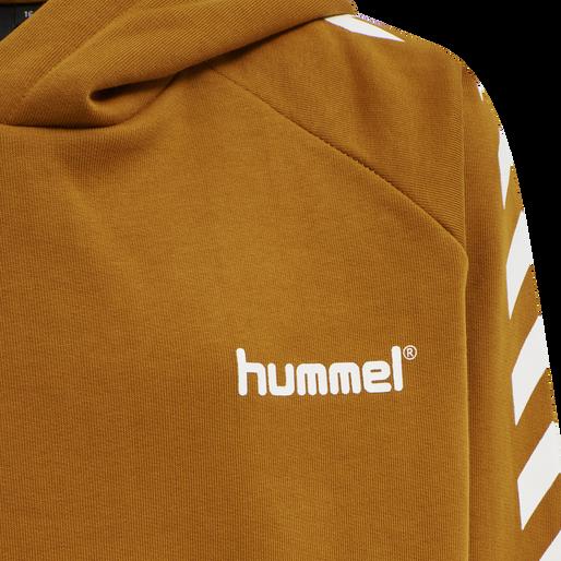 hmlSOLO HOODIE, PUMPKIN SPICE, packshot