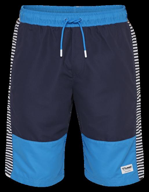 hmlNOLAN BOARD SHORTS, BRILLIANT BLUE, packshot
