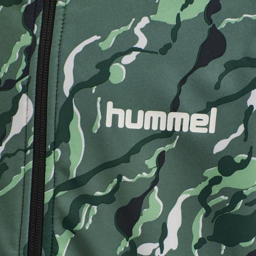 hmlCHUVA SOFTSHELL JACKET, BLUE SPRUCE, packshot