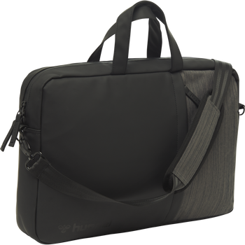 LIFESTYLE LAP TOP SHOULDER BAG, BLACK, packshot