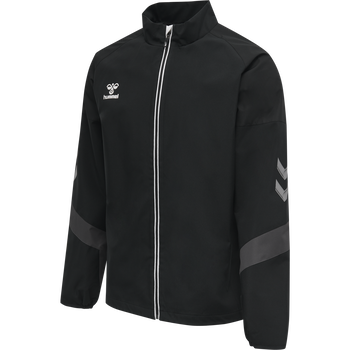hmlLEAD TRAINING JACKET , BLACK, packshot