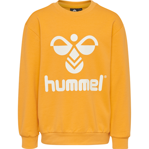 HMLDOS SWEATSHIRT, GOLDEN ROD, packshot