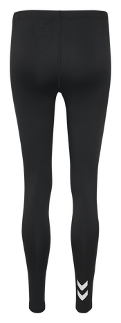 CORE TIGHTS WOMAN, BLACK, packshot