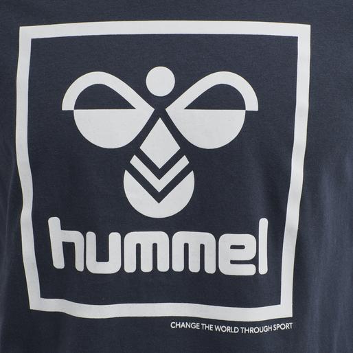 hmlISAM T-SHIRT, BLUE NIGHTS, packshot