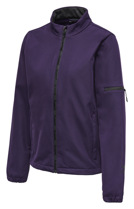 hmlNORTH SOFTSHELL JACKET WOMAN, CROWN JEWEL, packshot