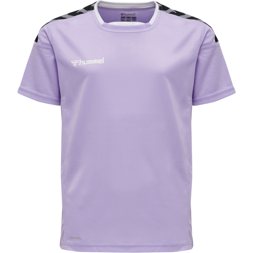 hmlAUTHENTIC KIDS POLY JERSEY S/S, LAVENDULA, packshot