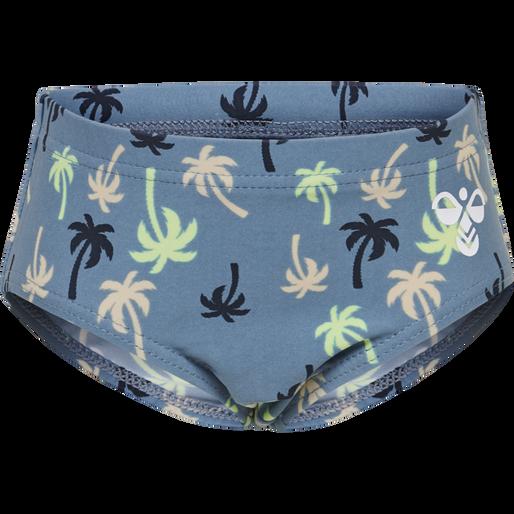 hmlBEACH SWIM PANTS, COPEN BLUE, packshot