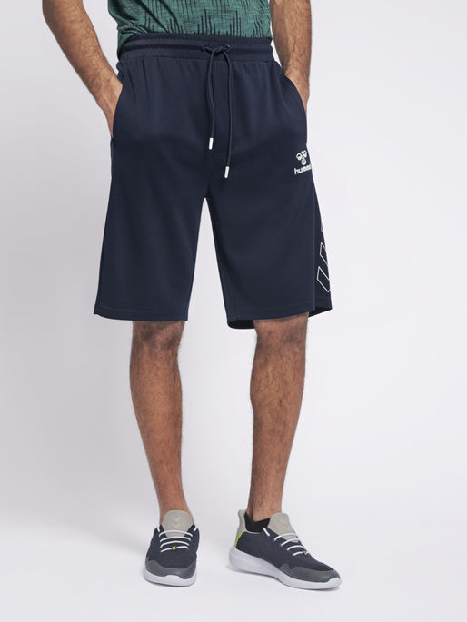 hmlJULIUS SHORTS, BLACK IRIS, model