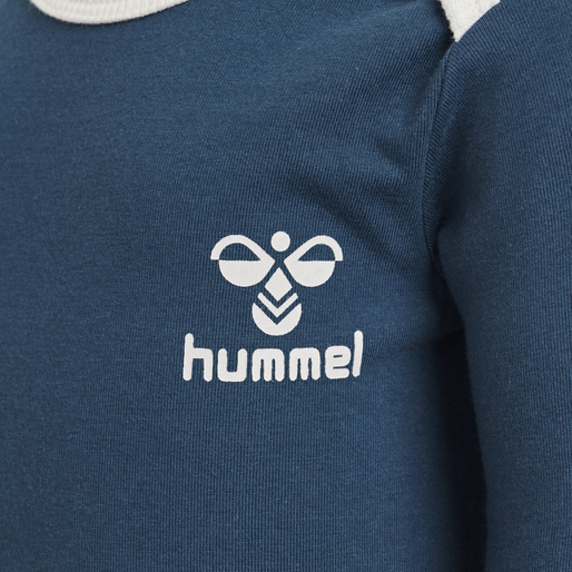 hmlMAUI BODY L/S , MAJOLICA BLUE, packshot