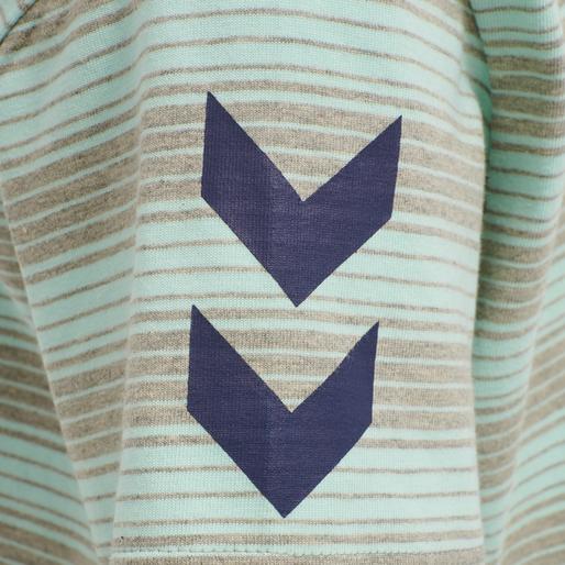 hmlMACK T-SHIRT S/S, BLUE TINT, packshot
