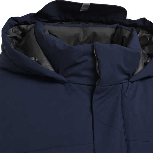 hmlNORTH PARKA JACKET WOMAN, MARINE, packshot