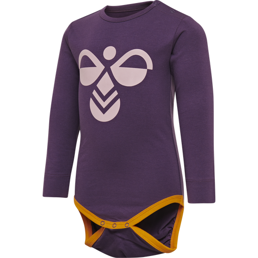 hmlVAIANA BODY L/S, SWEET GRAPE, packshot