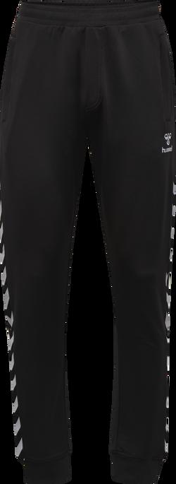HMLNATHAN PANTS, CAVIAR/CAVIAR, packshot
