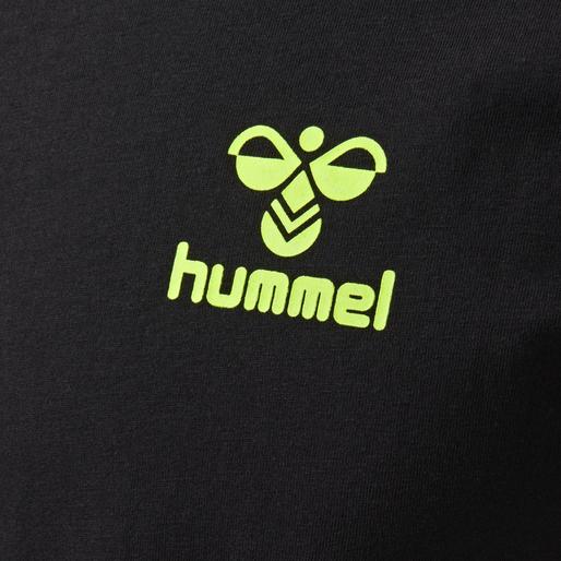 hmlBORD T-SHIRT S/S, BLACK, packshot