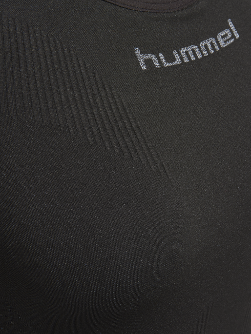 HUMMEL FIRST COMFORT W TANKTOP, BLACK, packshot