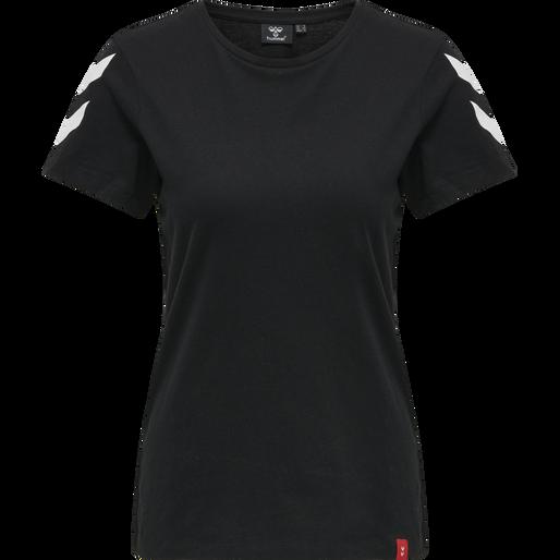hmlLEGACY 2-PACK WOMAN T-SHIRT, BLACK/WHITE, packshot