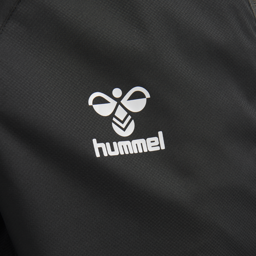 hmlLEAD PRO TRAINING JACKET/WINDBREAKER, BLACK, packshot