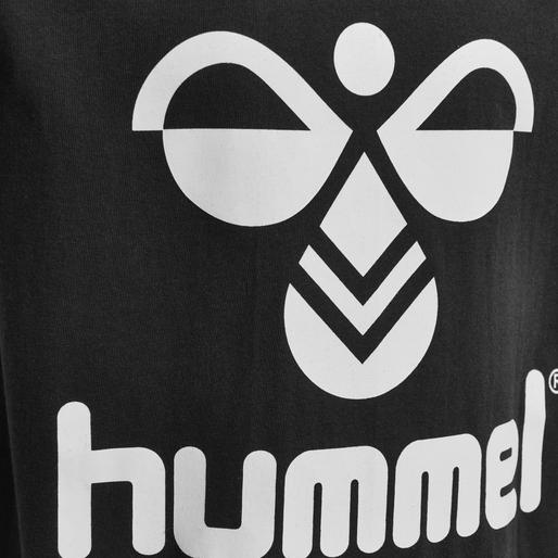 hmlTRES T-SHIRT S/S, BLACK, packshot