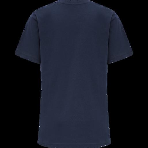 hmlGRAND T-SHIRT S/S, BLACK IRIS, packshot