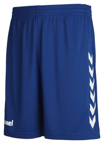 CORE POLY SHORTS, TRUE BLUE PRO, packshot
