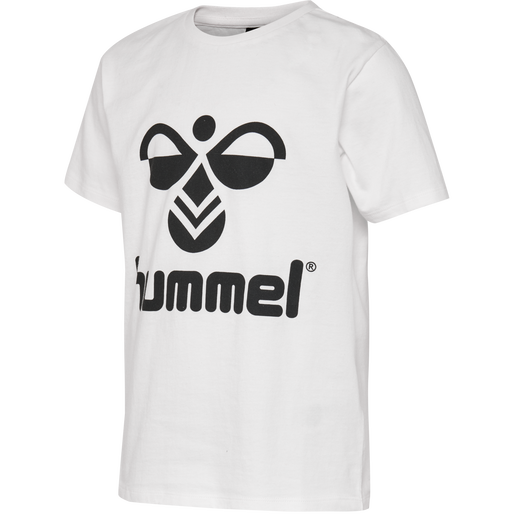 hmlTRES TEE SHIRT S/S, WHISPER WHITE, packshot