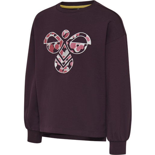 hmlSHIKOKO SWEATSHIRT, BLACKBERRY WINE, packshot